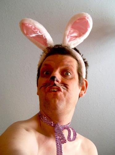 残念なウサギのコスプレ05