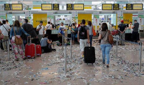 バルセロナの空港02