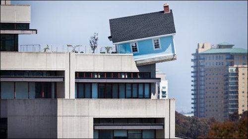 崖っぷちの家12
