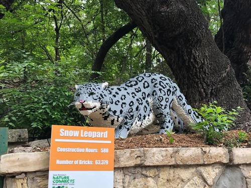 サンアントニオ動物園がレゴの動物を展示16