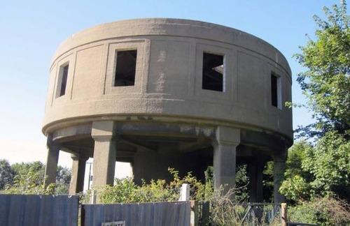 給水塔を自宅にリフォーム02