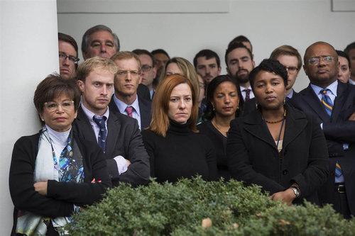 トランプ新大統領に対するホワイトハウスの職員01