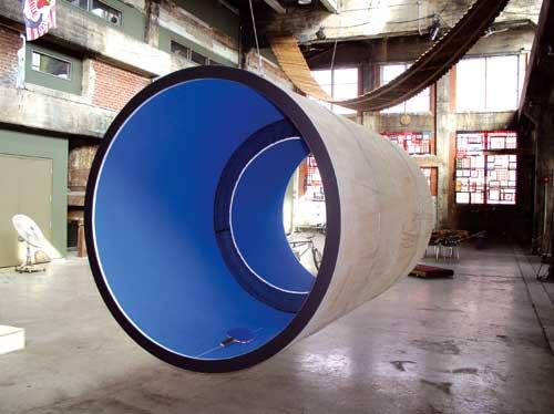 円筒型の卓球台01