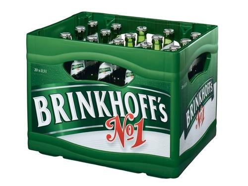 ドイツのスーパーマーケットのビールの宣伝00