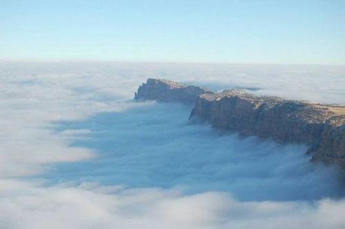 グランドキャニオンの雲海06