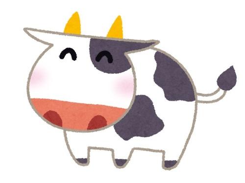 もふもふ牛