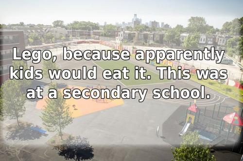 学校で禁止されたありえないルール13