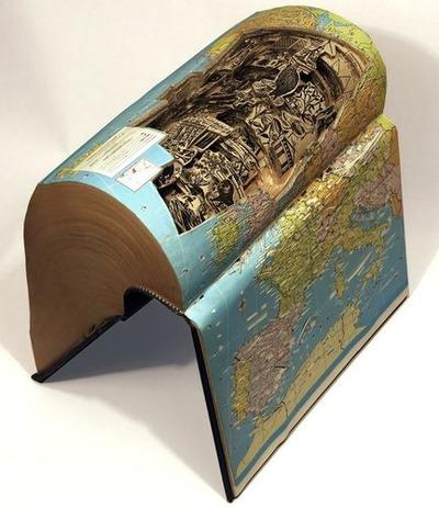 本の彫刻11