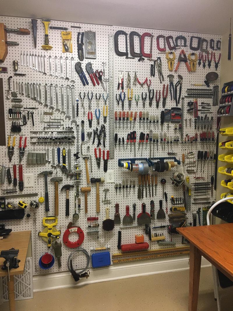 「うちの父親は『工具』をこんな風に保管している」多くの人が感心する収納のしかた らばq