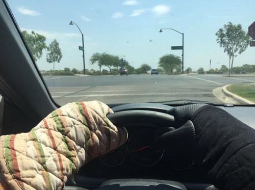 アリゾナ州の地獄の暑さ01