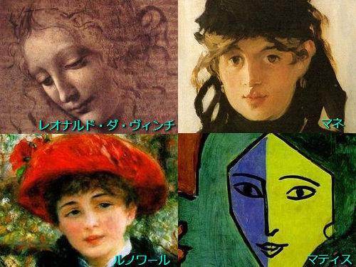 西洋の女性名画の歴史500年00