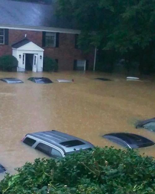 サウスカロライナの洪水01