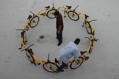 まわる自転車02