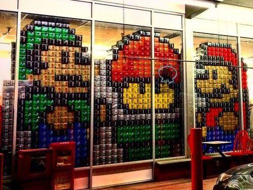 ジュース箱とスーパーマーケット02
