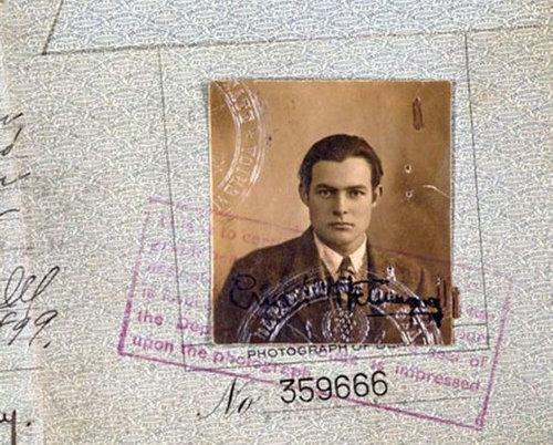 歴史上の有名人のパスポート11