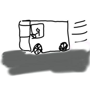 小学校3年生のときにデザインした車02