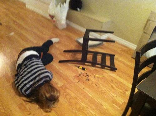 IKEAのイス01