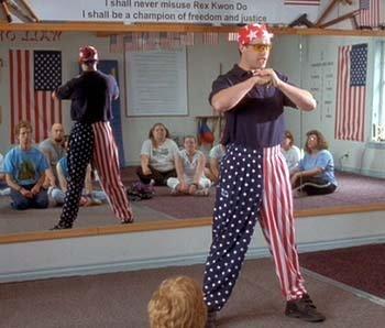 アメリカの国旗敬礼03