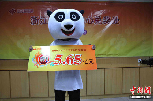 中国の宝くじ当選者06
