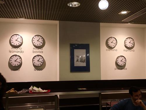 イタリアの大学の時計01