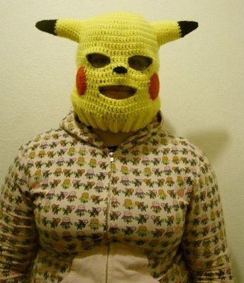 これは違うと思うピカチューのマスク02