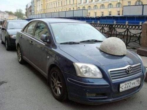 違法駐車10