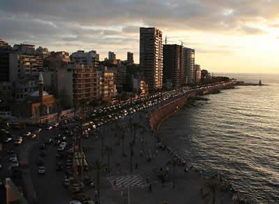 世界各国の渋滞-レバノン