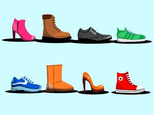 靴の色の頻度00