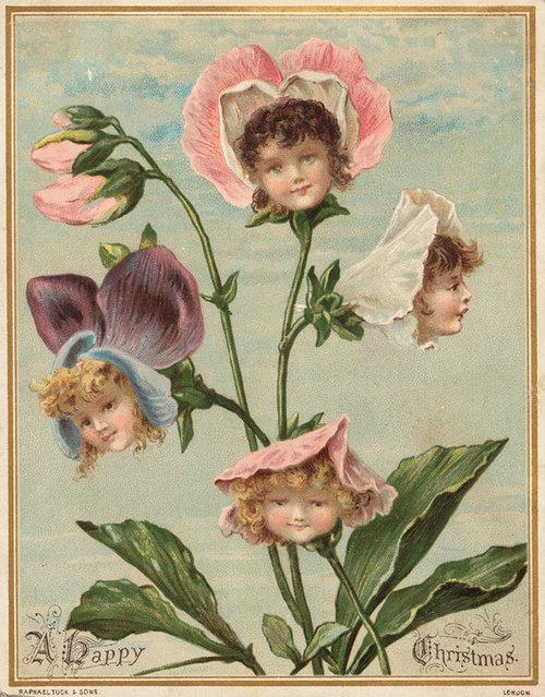 19世紀のクリスマスカード05