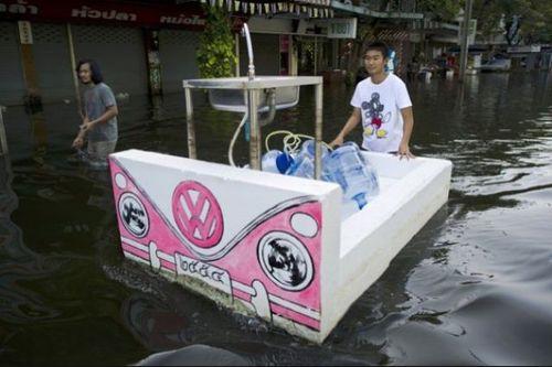 タイの洪水26