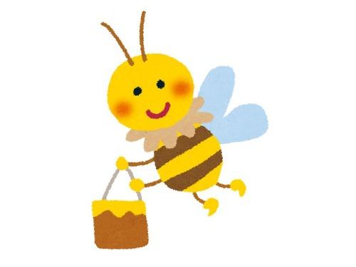 「ミツバチの世界にもおデブさんがいた」00