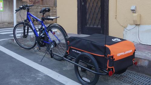 カゴなし自転車でこんなに運べる!自転車の楽しみ方が広がるサイクルトレーラーが面白かった