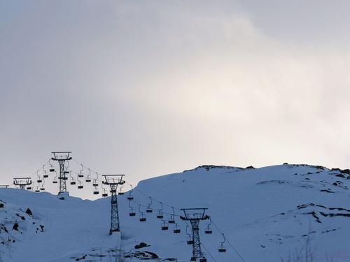 スウェーデンのスキーリゾート