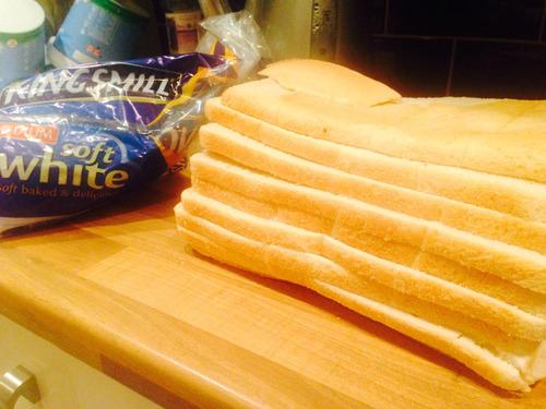 スライスされた食パンを買った01