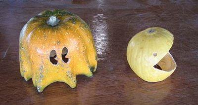 かぼちゃでパックマン