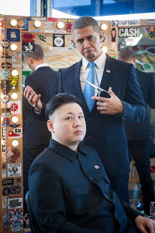 オバマと金正恩のそっくりさん02