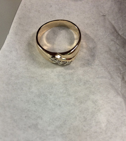 結婚指輪の修復15
