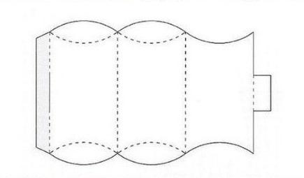 ギフトボックスの展開図02