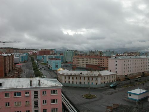 ロシアで水道管が破裂00