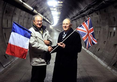 英仏海峡トンネルが1990年に初めて出会ったとき03