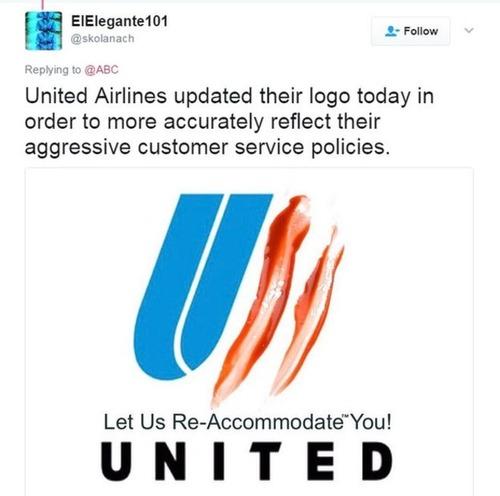 ユナイテッド航空のパロディロゴ01