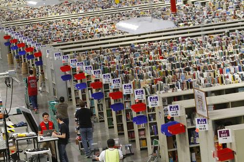 Amazonの倉庫04