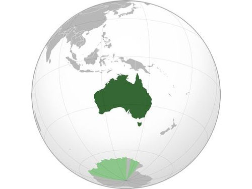 オーストラリアは毎年移動