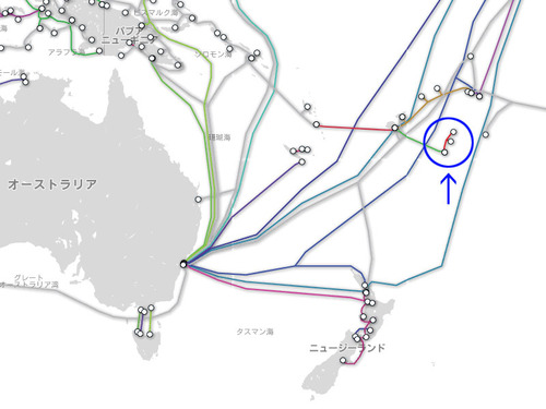 トンガの海底ケーブルが断線02