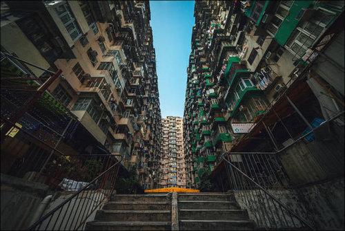 香港の集合住宅15