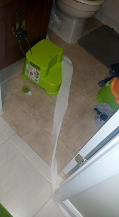 2歳の子供に「トイレットペーパーを持ってきて」04