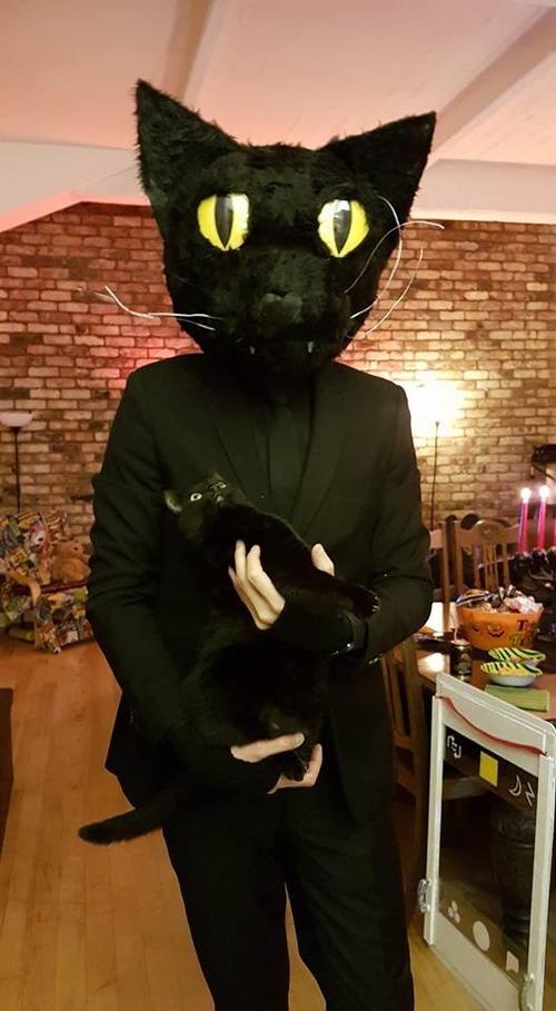 うちの猫のコスプレをしたら01