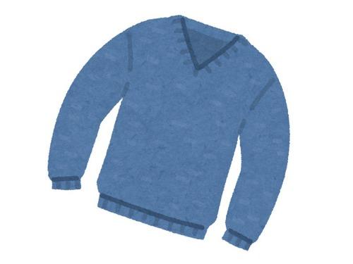 セーターの3段階00