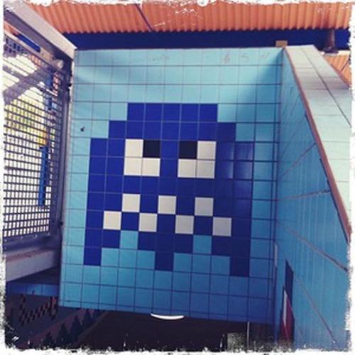 ストックホルムの駅が8bitゲーム風04