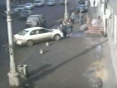ロシアの交通事故